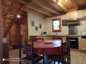 Chalet Hérisson - le vieux café - location de tourisme à Bernex