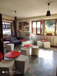 Salle - le vieux café - location de tourisme à Bernex