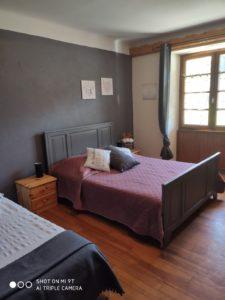 chambre 1 - le vieux café - location de tourisme à Bernex
