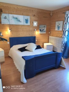 chambre 3 - le vieux café - location de tourisme à Bernex